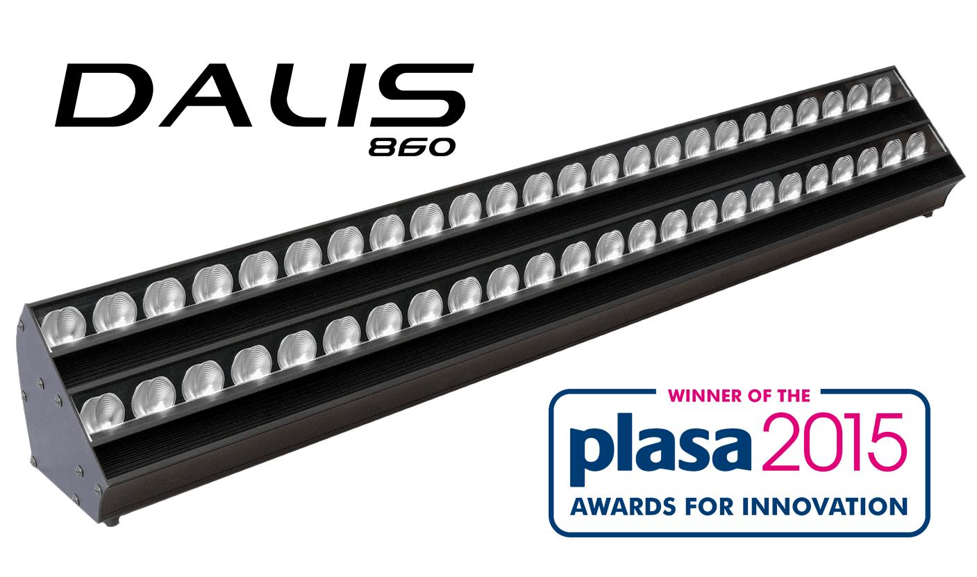 DALIS 860, the 300W LED Asymmetric Cyclight by Robert Juliat